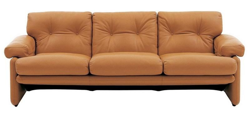 Rjava sedežna garnitura