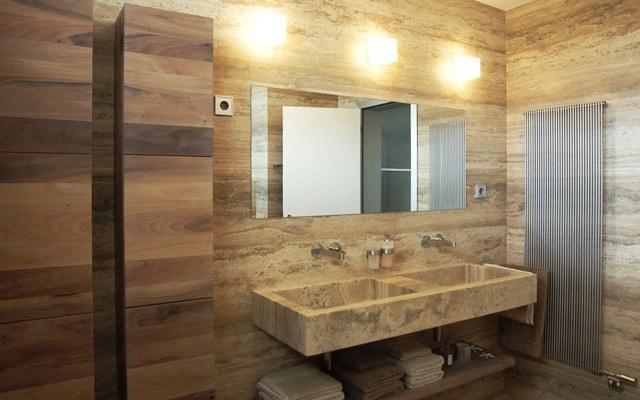 Kamnite obloge v kopalnici