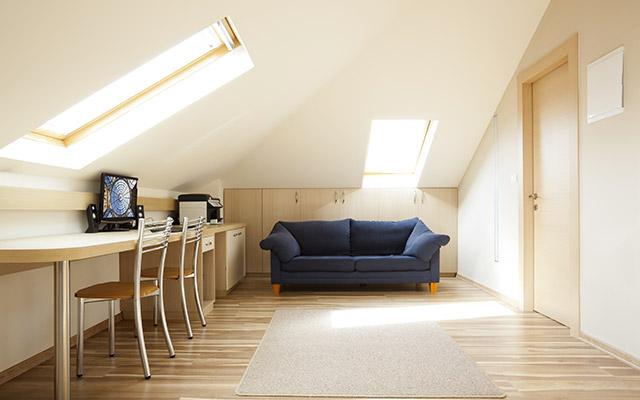 Pohištvo mansarde